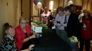 Book Signing UOAA 2015 Brenda and Carol
